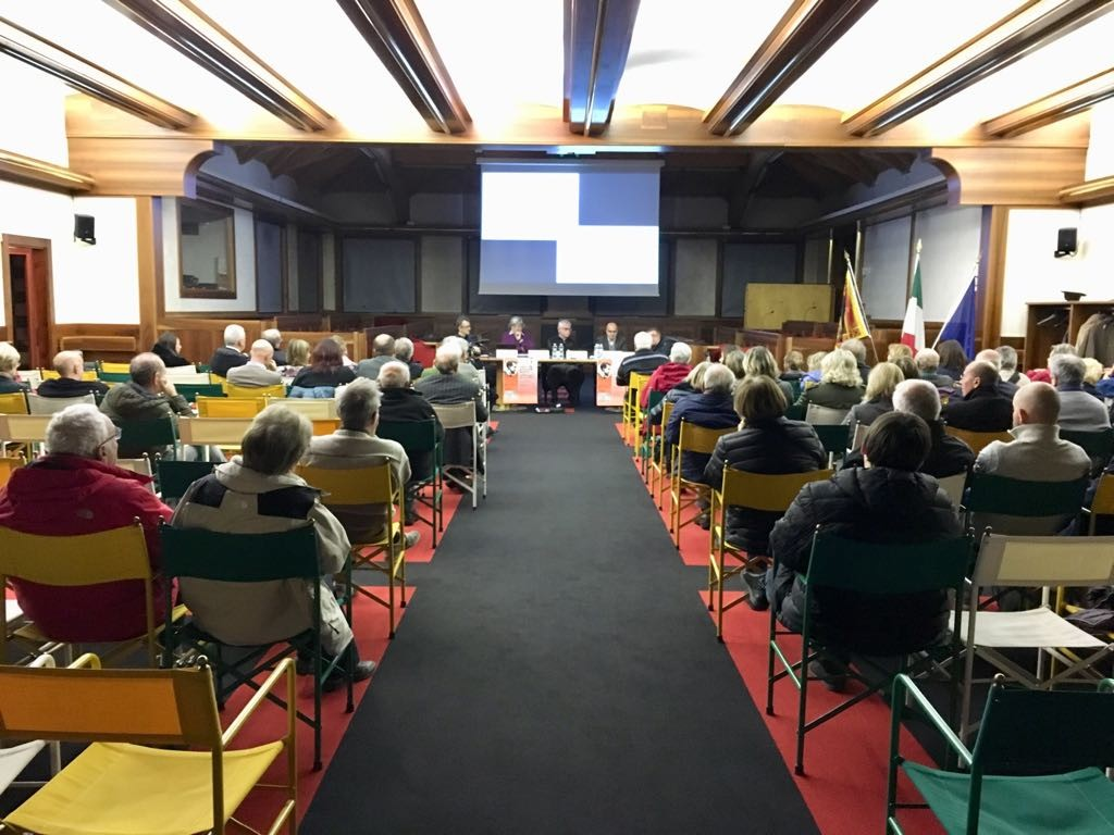Durante il convegno su Tito Livio Burattini al quale ho partecipato come relatore (Agordo, novembre 2017)